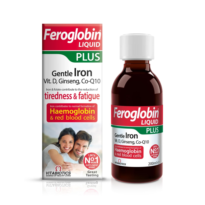 Feroglobin Plus siirup 200ml   BENU Veebiapteek